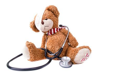 oso de peluche: Oso de peluche con el vendaje  Teddy Bear