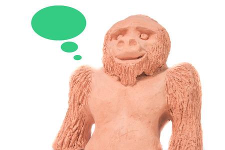 clay monkey photo