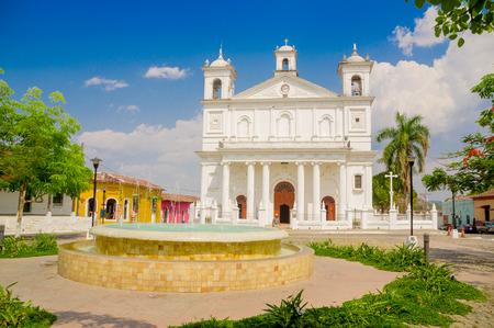 Suchitoto town in El Salvador