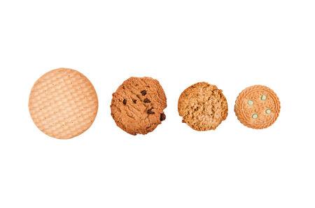 round cookies photo