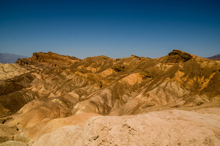 immense: breathtaking eroded ridges in death valley national park