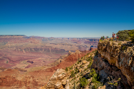 beautiful colorful landscape grand canyon national park arizona photo