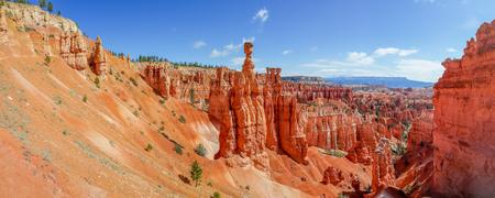 thor's: panorama thors hammer bryce canyon national park utah beautiful landscape Stock Photo