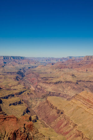 toroweap: beautiful colorful landscape grand canyon national park arizona Stock Photo
