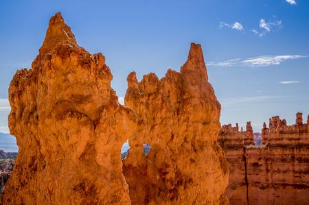 breathtaking view of bryce canyon national park utah photo