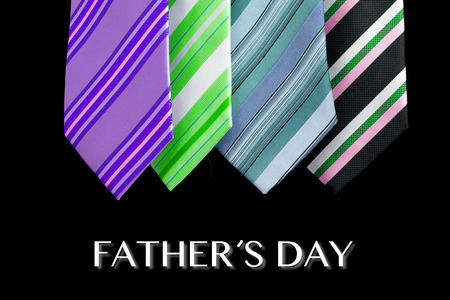 happy summer: happy father day tie greeting card