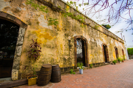 panama city beach: historic jail in old town in Panama city