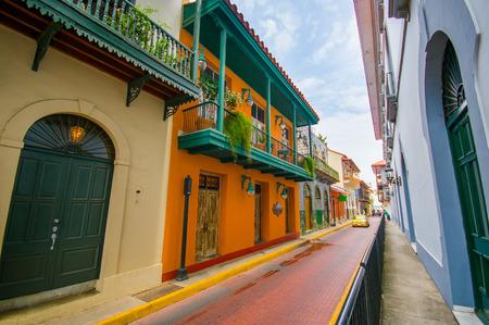 Historische Altstadt in Panama-Stadt Standard-Bild - 44172859