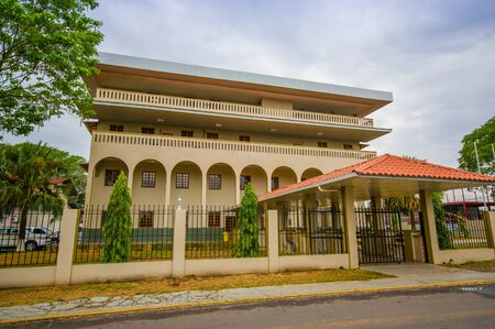 brahman: David is a city and corregimiento located in the west of Panama. It is the capital of the province of Chiriquí. Stock Photo