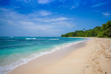 bocas del toro: Isla Zapatilla  pristine beach at Bocas del Toro Province in Panama