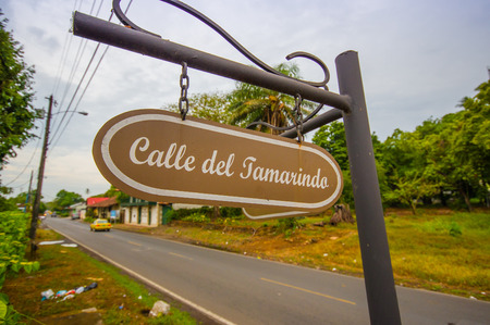 colon panama: DAVID, PANAMA - APRIL 10, 2015: San Jose de David is a city and corregimiento located in the west of Panama. It is the capital of the province of Chiriqui.