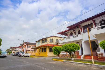 colon panama: COLON, PANAMA - APRIL 15, 2015: Col�n is a city in Central Panama. The town is in poor condition and notorious for its high crime rate.