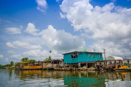 bocas del toro: BOCAS DEL TORO, PANAMA - APRIL 23, 2015 : Bocas del Toro  province of Panama comprising an archipelago off the Caribbean coast.