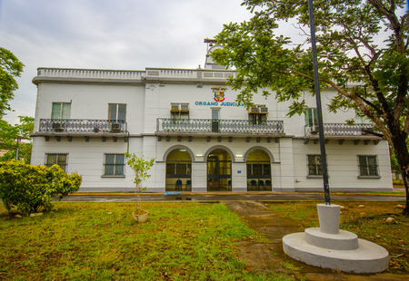 DAVID, PANAMA - APRIL 10, 2015: San Jose de David is a city and corregimiento located in the west of Panama. It is the capital of the province of Chiriqui.