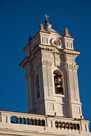 colonial church: Beautiful old colonial church in Quito, Ecuador