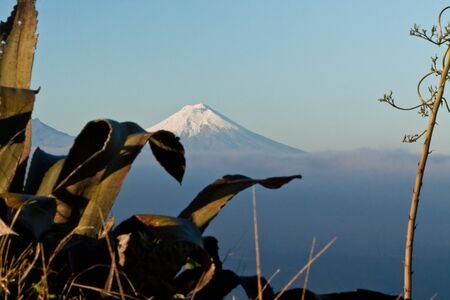 impressive: Amazing view of impressive Cotopaxi volcano, Ecuador, South America