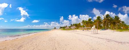 Santa Lucia beach on a sunny day, Camaguey Province, Cuba