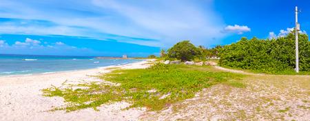 south coast: Playa Giron, Caribbean Sea, south coast Cuba Stock Photo