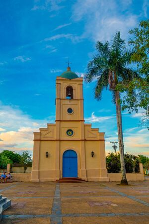 pinar: VINALES, CUBA - SEPTEMBER 13, 2015: Vinales, a small town and municipality in the north central Pinar del Rio Province of Cuba. Editorial