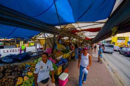 curacao: WILLEMSTAD, CURACAO - NOVEMBER 2, 2015 - floating fish market, Curacao, Caribbean Editorial
