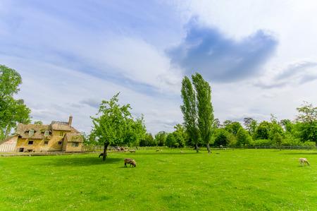 marie: Marie Antoinettess farm near Versaille, Paris, France