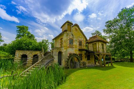 meadowland: Hameau de la Reine, The Queens Hamlet is a rustic retreat in Versailles, Paris, France