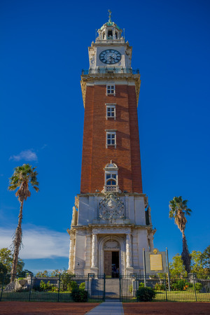 peron: BUENOS AIRES, ARGENTINA - MAY 02, 2016: torre monumental was a gift of the local british community to the city. Editorial