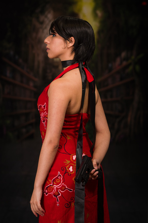 Ada Wong cosplay, resident evil custom