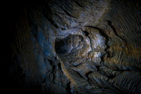 glowworm: Amazing Waitomo Glowworm Caves located in New Zealand Stock Photo