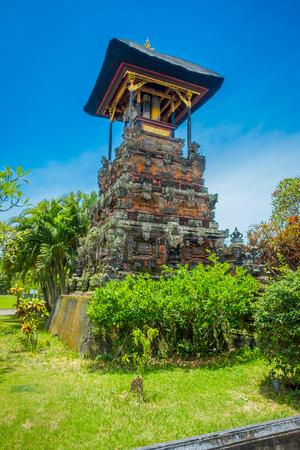 BALI, INDONESIA - MARCH 05, 2017: Gate of Pura Ulun Danu Bratan temple on Bali island, Indonesia Editorial