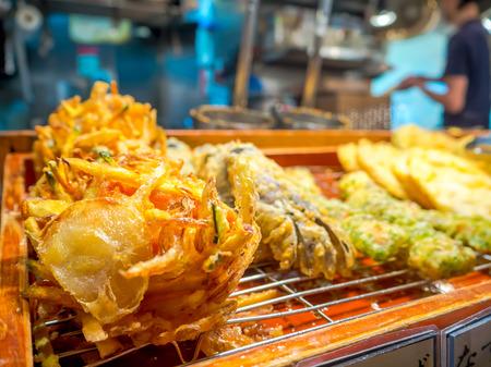 Close up of Yakisoba, japanese fried food on plate