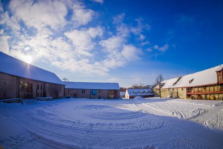 Outdoor view of Ringve Music Museum in Trondheim, Norway