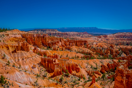 Hoodoo landscape of Bryce Canyon National Park, USA
