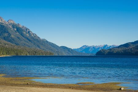 Lake Traful located at Patagonia, enchanted place, Argentina