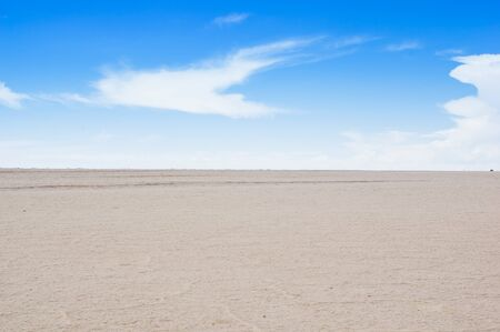Salar de Uyuni, the world's largest salt flat area, Altiplano, Bolivia, South America