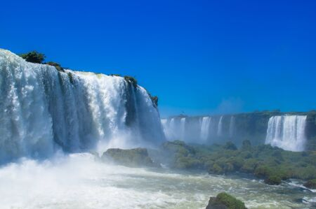 Foz do Iguazu. Is a touristic town and waterfalls at Brazil Stock fotó