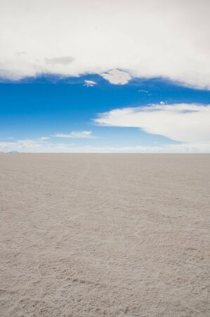 Salar de Uyuni, the worlds largest salt flat area, Altiplano, Bolivia, South America Stock fotó