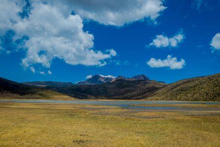 Cotopaxi National Park, Ecuador home to the Cotopaxi Volcano. Фото со стока