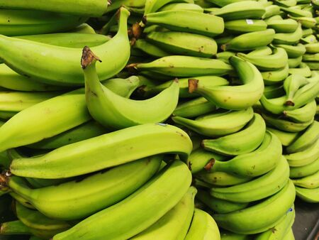 Plantain. Is the common name for herbaceous plants of the genus Musa. The fruit they produce is generally used for cooking, in contrast to the soft, sweet