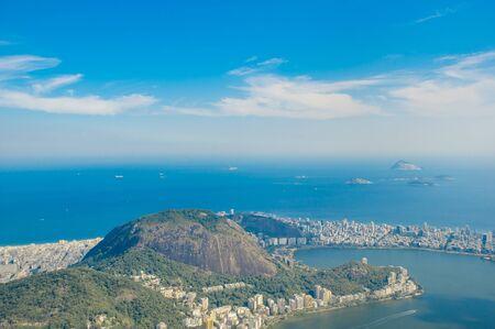 Rio De Janeiro, Brazil in the summer sun light Stock Photo