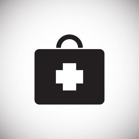 Game first aid kit icon on white background for graphic and web design, Modern simple vector sign. Internet concept. Trendy symbol for website design web button or mobile app