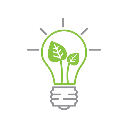 Ecology power source icon on white background for graphic and web design, Modern simple vector sign. Internet concept. Trendy symbol for website design web button or mobile app