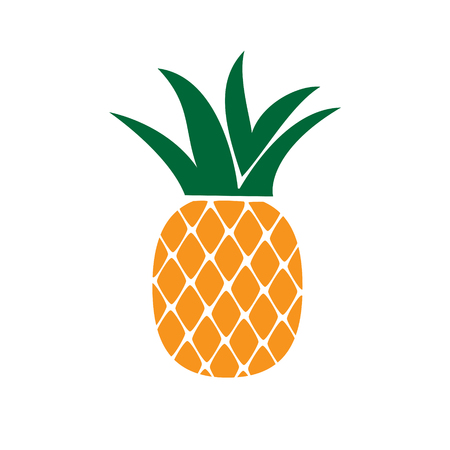 Fruit color icon on white background for graphic and web design, Modern simple vector sign. Internet concept. Trendy symbol for website design web button or mobile app Vector Illustration