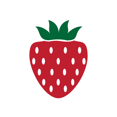 Fruit color icon on white background for graphic and web design, Modern simple vector sign. Internet concept. Trendy symbol for website design web button or mobile app