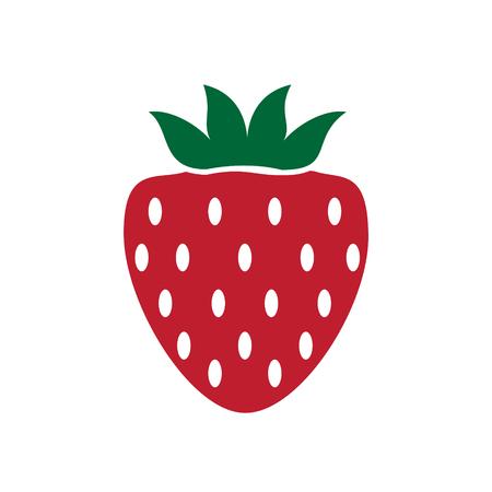 Fruit color icon on white background for graphic and web design, Modern simple vector sign. Internet concept. Trendy symbol for website design web button or mobile app Reklamní fotografie