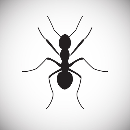Ant Insect icon on white background for graphic and web design, Modern simple vector sign. Internet concept. Trendy symbol for website design web button or mobile app