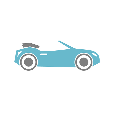 Car icon on white background for graphic and web design, Modern simple vector sign. Internet concept. Trendy symbol for website design web button or mobile app