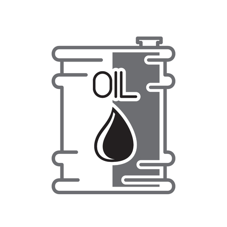 Oil product icon on white background for graphic and web design, Modern simple vector sign. Internet concept. Trendy symbol for website design web button or mobile app