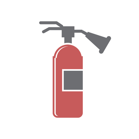 Car fire extinguisher icon on white background for graphic and web design, Modern simple vector sign. Internet concept. Trendy symbol for website design web button or mobile app