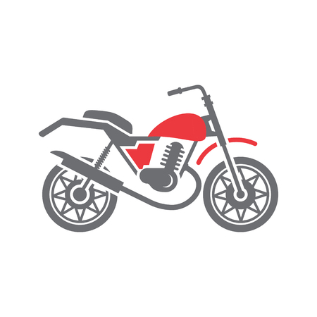 Motorcycle cross icon on white background for graphic and web design, Modern simple vector sign. Internet concept. Trendy symbol for website design web button or mobile app